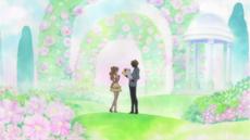 Pudding recordando su encuentro con Sanji