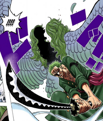 Zoro Defeats Monet