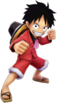 Luffy Hell Party Costume Thousand Storm