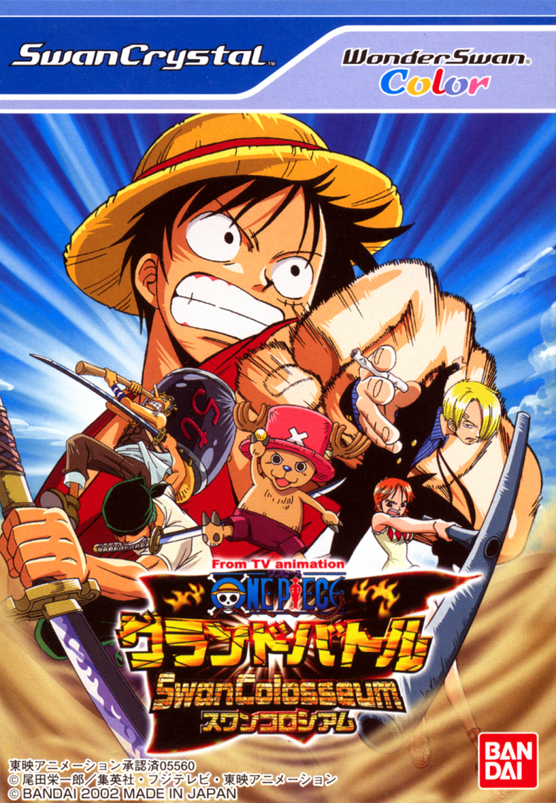 Best WonderSwan Games - One Piece Grand Battle Swan Colosseum