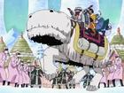 Wapol s'enfuit Anime