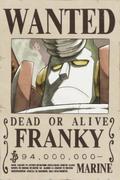 Franky Avis de Recherche Post Dressrosa