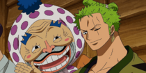 Zoro and Tonoyasu