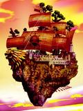 Корабль-Остров Сики