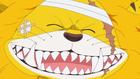 Нэкомамуси улыбается