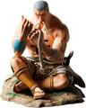Figura de Daz Bones como samurái