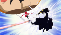 Gladius vs Luffy