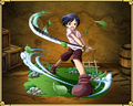 Kuina con la espada en One Piece Treasure Cruise