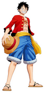 Luffy Unlimited World Red