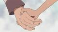 Robin et Olvia se serrent la main
