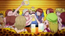 Whisky Peak Girls and Sanji