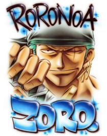 Bustercall Roronoa Zoro