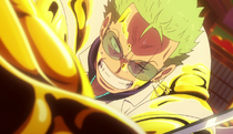 Film Gold Zoro golden