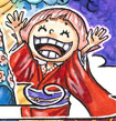 Toko's Manga Color Scheme
