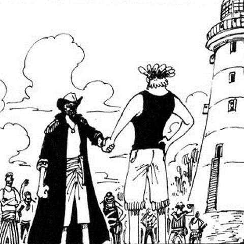 La sua prima apparizione nel manga