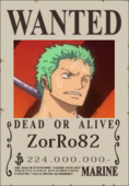 ZorRo82 Wanted Poster 2