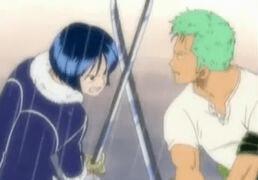 Zoro vs tashigi