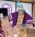 Franky en el arco histórico de Luffy