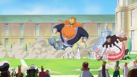 Mjosgard Saves Shirahoshi