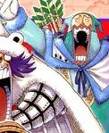 Colores de Chess en el manga