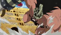 Hajrudin vaincu par Luffy!!!