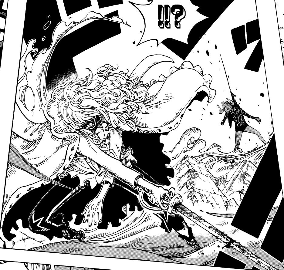 Cavendish (como Hakuba) vs. Dellinger   One Piece Wiki ...