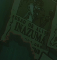 Inazuma Avis de Recherche