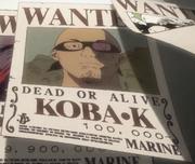 Koba K Avis de Recherche