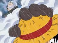 Smoker vs Luffy