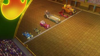 Гонка на черепашьих машинах