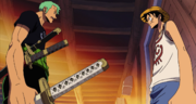 Zoro Discusses Usopp's Membership with Luffy