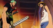 Zoro Discusses Usopp's Membership with Luffy