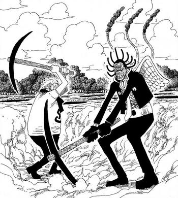A Vida Acidental de Gedatsu no Mar Azul