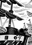 Drake Pirates Ship