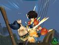 Grand Battle 3 Luffy vs Foxy