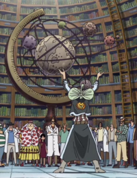 Modelo del Mundo de One Piece