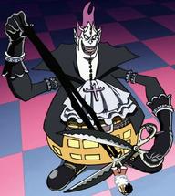 Moria Memotong Bayangan Luffy