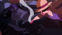 Luffy vs. Zephyr Fight 2