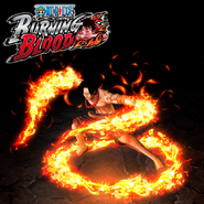 One Piece Burning Blood Fire Fist Ace (Artwork)