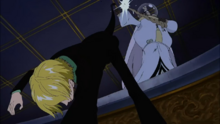 Sanji Disarms Rosward