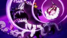 Big Mom ataca a King Baum y los Sombrero de Paja