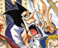 Colores de Foxy en el manga
