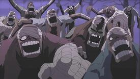 Los soldados zombis