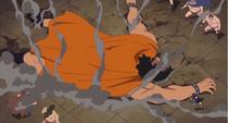 Luffy Defeats Spartan