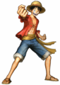 Luffy Pirate Warriors 3