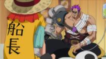 Luffy e Zephyr