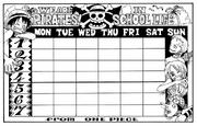 SBS Volume 8 Class Schedule