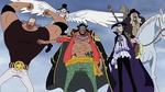 Equipage de Barbe noire Anime