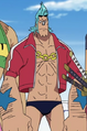 Franky Little East Blue Arc Outfit