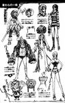 Straw Hat Pirates' Outfits2
